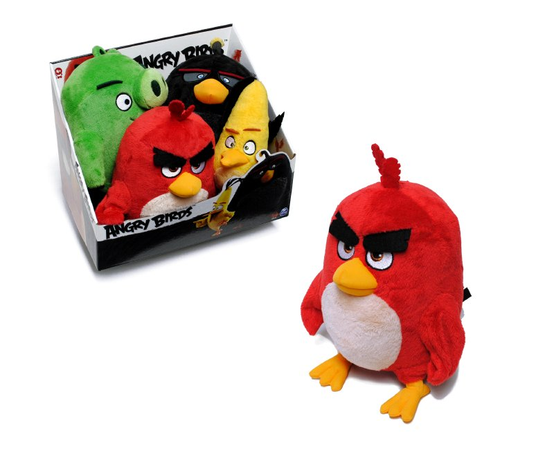 ANGRY BIRDS Peluche Angry Birds 20 Cm.