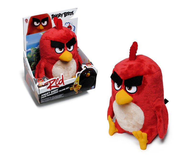 ANGRY BIRDS Peluche Con Sonido Angry Birds 30 Cm.