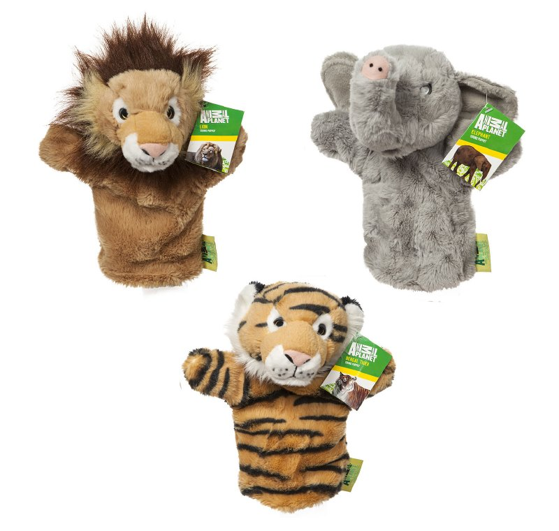 ANIMAL PLANET Titere Peluche Selva C/sonido 25 Cm. An
