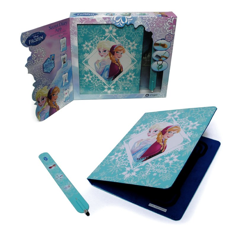 Funda Diario Secreto Frozen