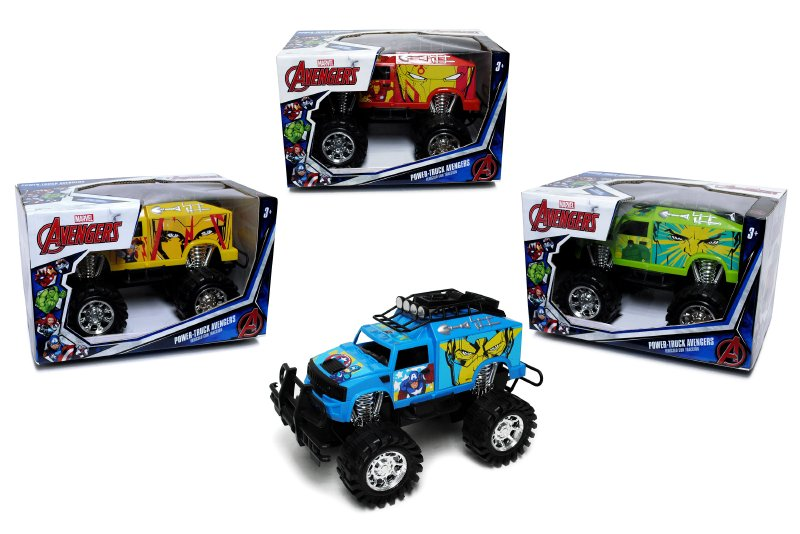 Monster Truck A Friccion Avengers