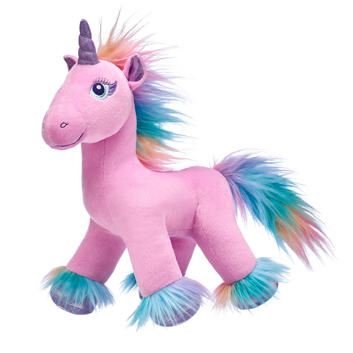 Peluche Unicornio Rosado Fairy Friends