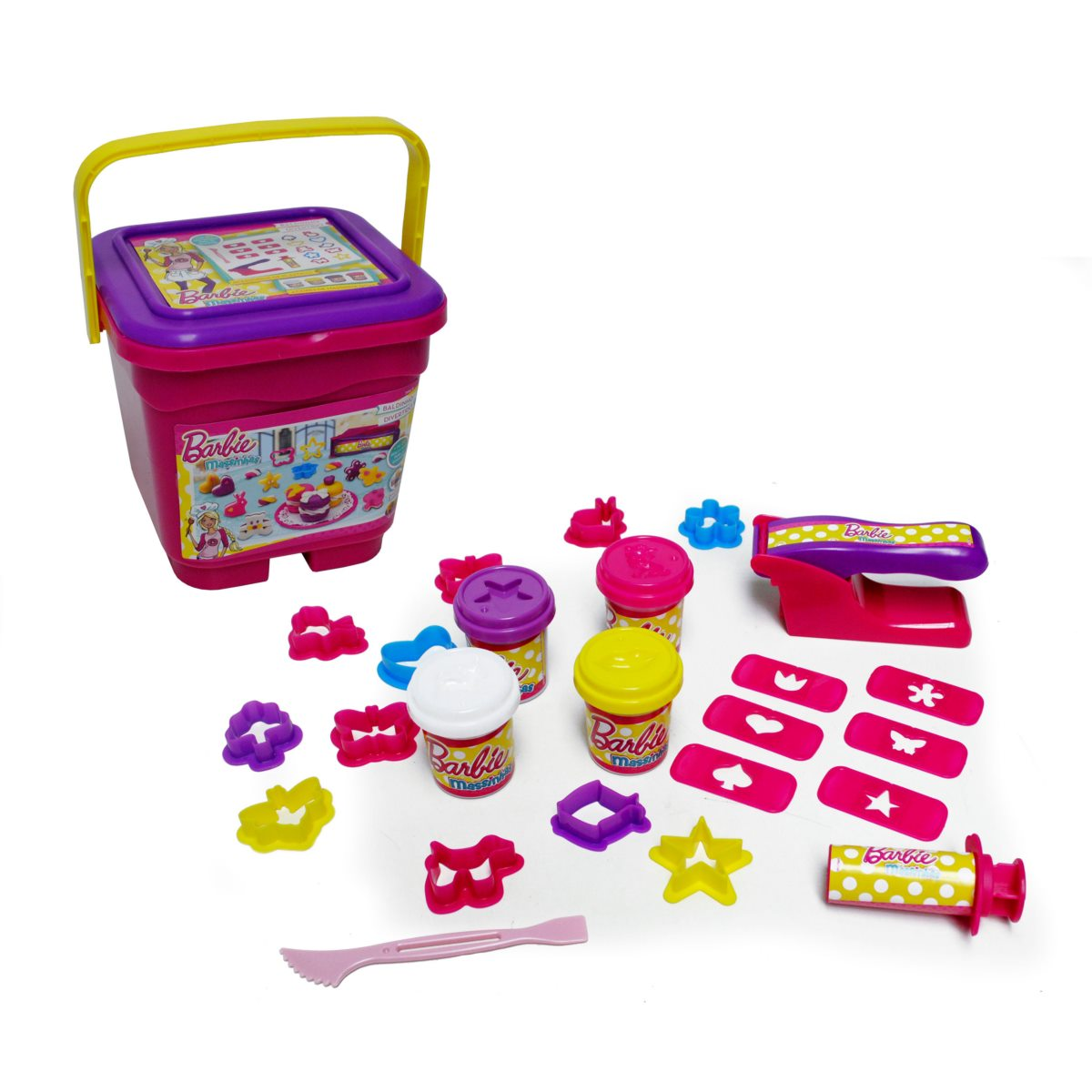Set Masas En Balde Barbie