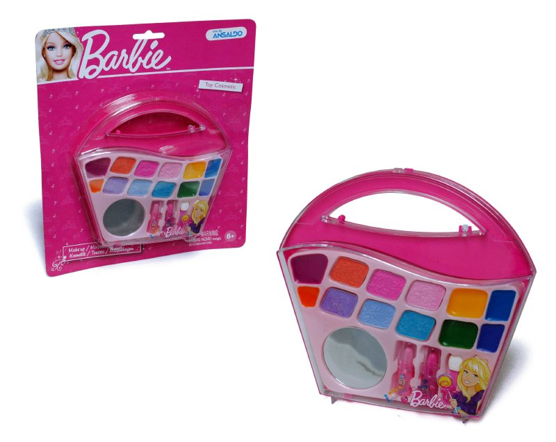 BARBIE COSMETICOS Cartera Espejo Maquillaje Barbie