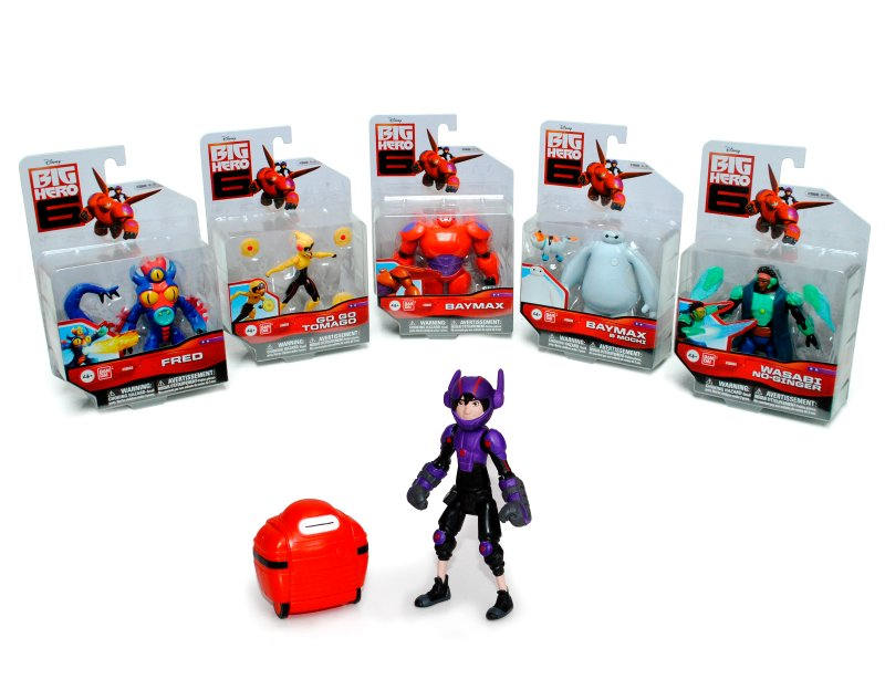 BIG HERO 6 Figura 10 Cm. Con Accesorios Big Hero 6
