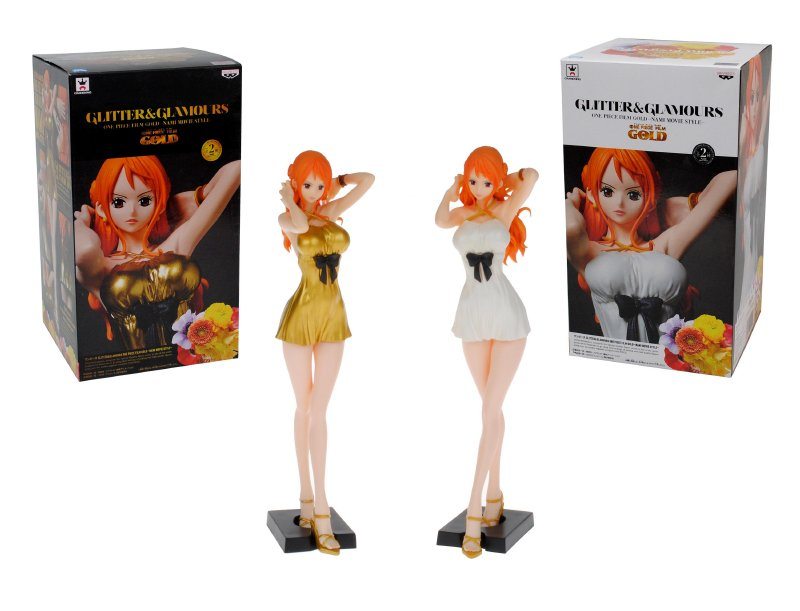 COLLECTORS Figura 25 Cm. One Piece Film Gold Glitt