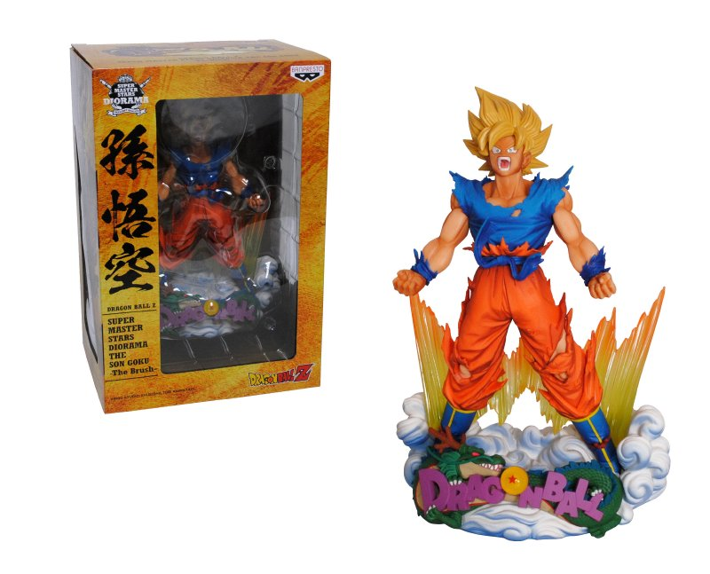 COLLECTORS Figura 18 Cm. Dragon Ball Z Super Maste