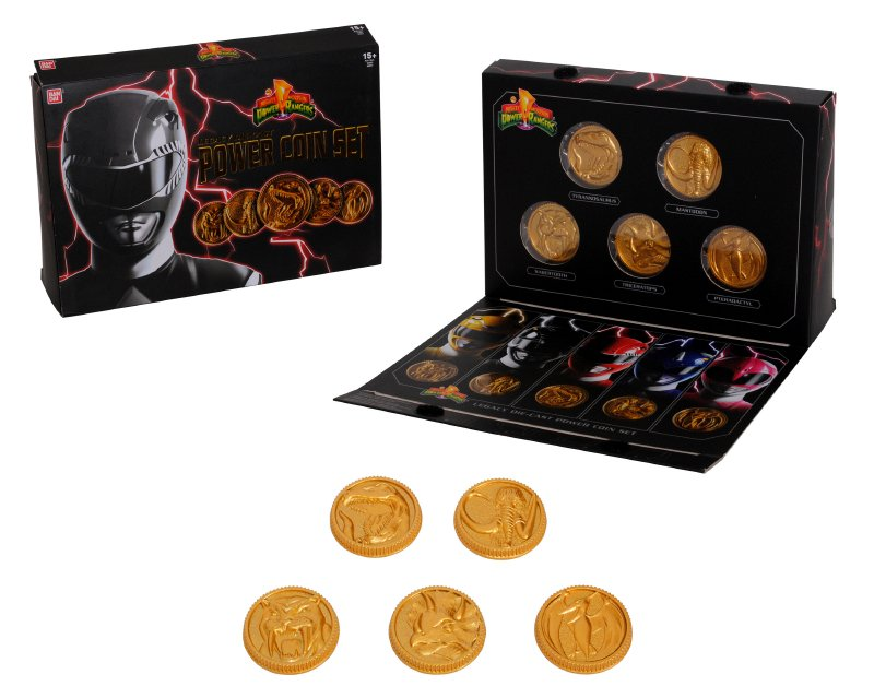 Set Monedas Power Rangers Legacy