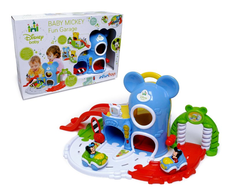 Disney Baby Garage De Baby Mickey