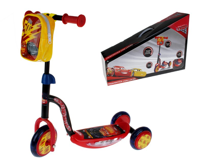 Super Scooter Con Luz Cars3