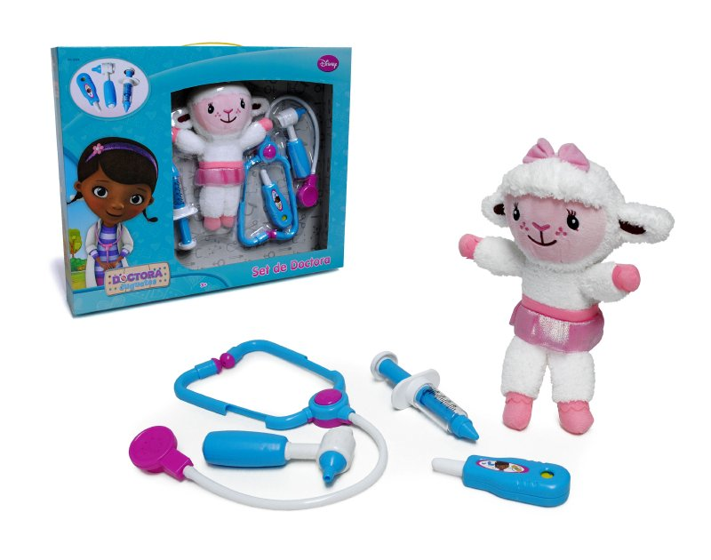 Set Doctor Con Peluche Lambie Dra Jugue