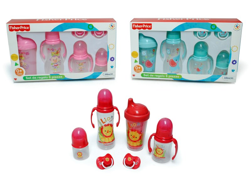 Set De Regalo 6 Piezas Fisher Price