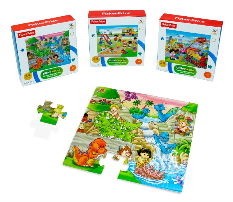 Puzzle 24 Piezas Fisher Price