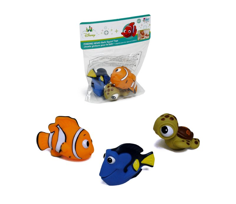 THE FIRST YEARS Set De 3 Figuras Para Baño Dory