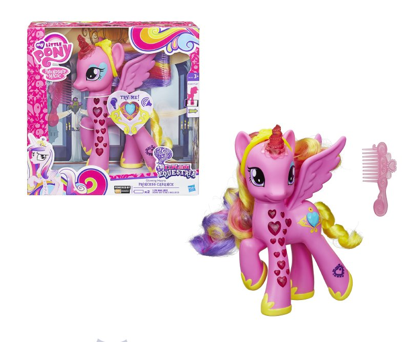 My Little Pony Princesa Cadance Con Luc