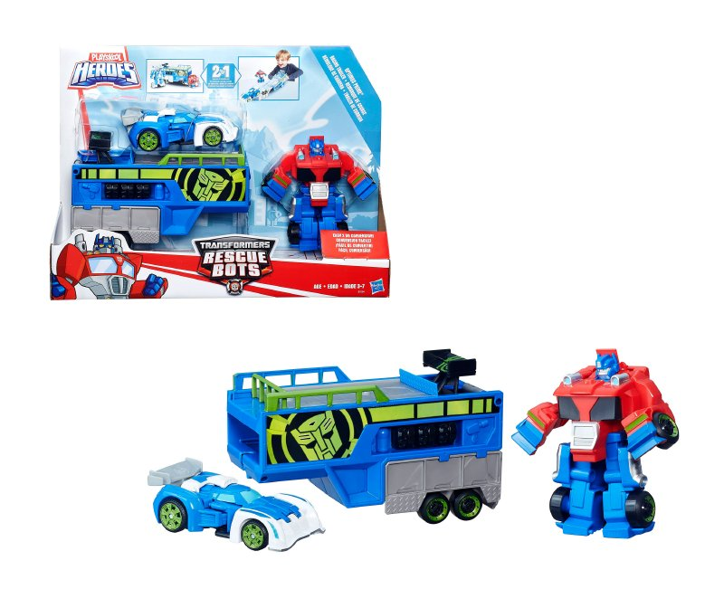 Transformers Rescue Bots Optimus Traile