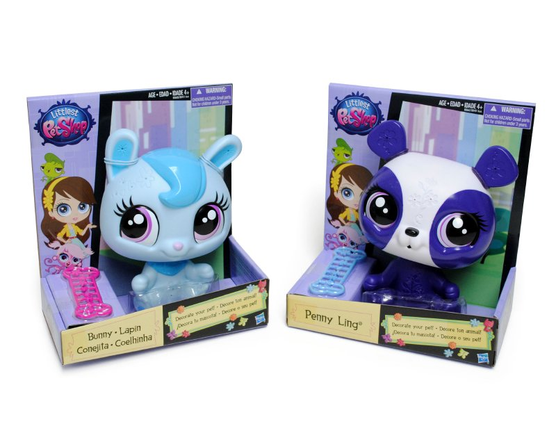 HASBRO INSTITUCIONES Littles Pet Shop Decora Tu Mascota Hasb