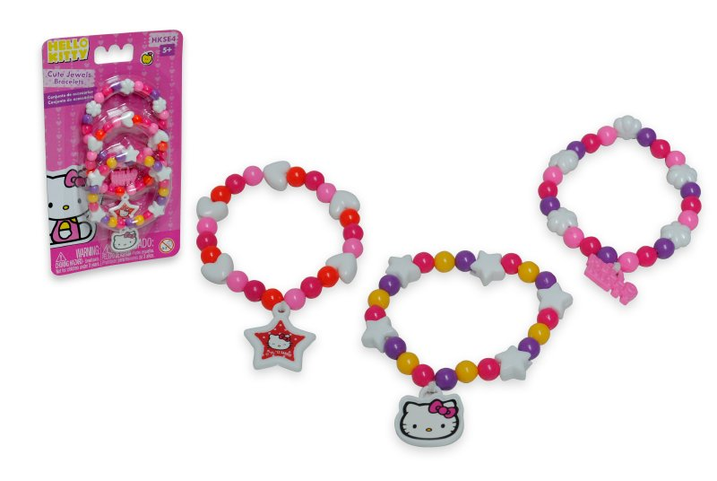 Set Pulseras Hello Kitty