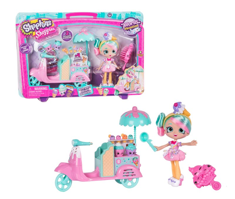 Shoppies Set Moto Helados Shopkins