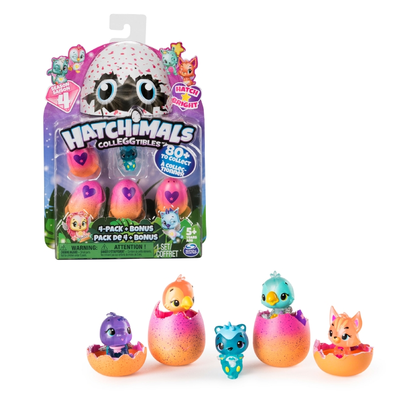 Hatchimals S4 Pack De 4