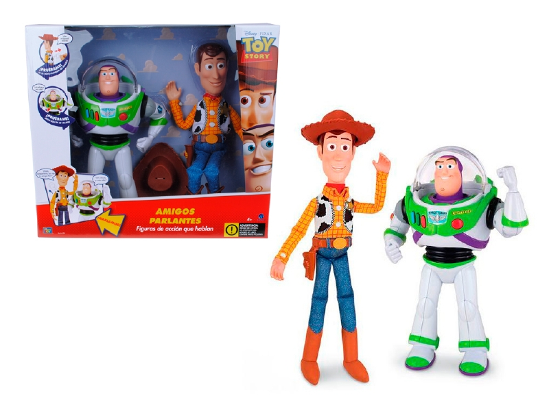 Toy Story Buzz & Woody Con Sonido