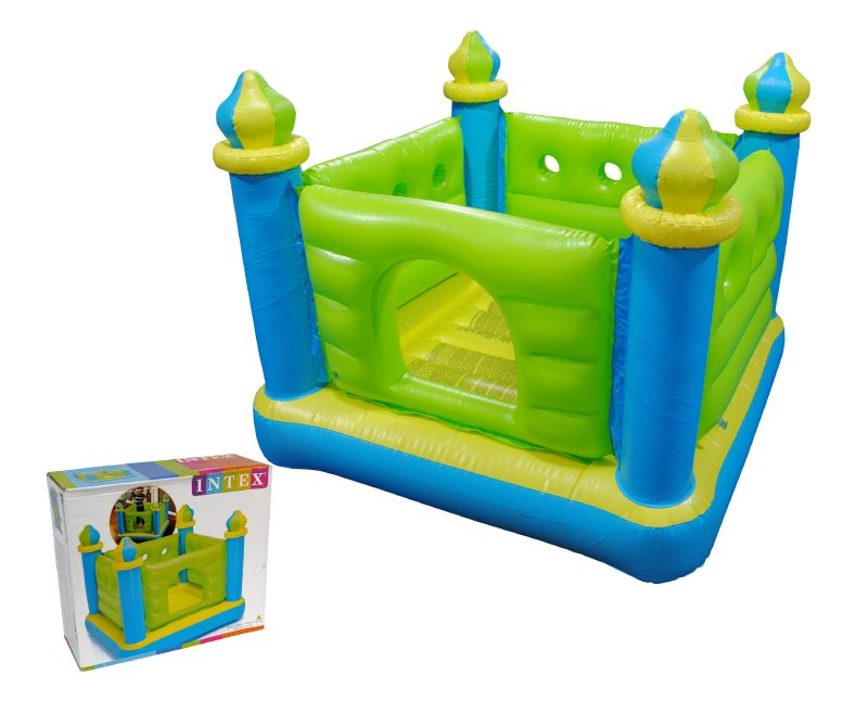 INTEX INFLABLES Castillo Saltador Inflable 132x132x107