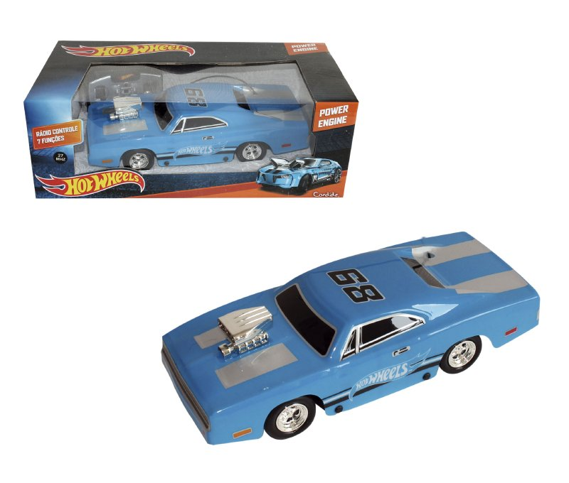 INTEK JUGUETES Rc Motor Poderoso Hot Wheels