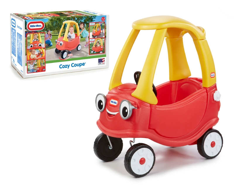 Carro Cozy Coupe Littles Tikes