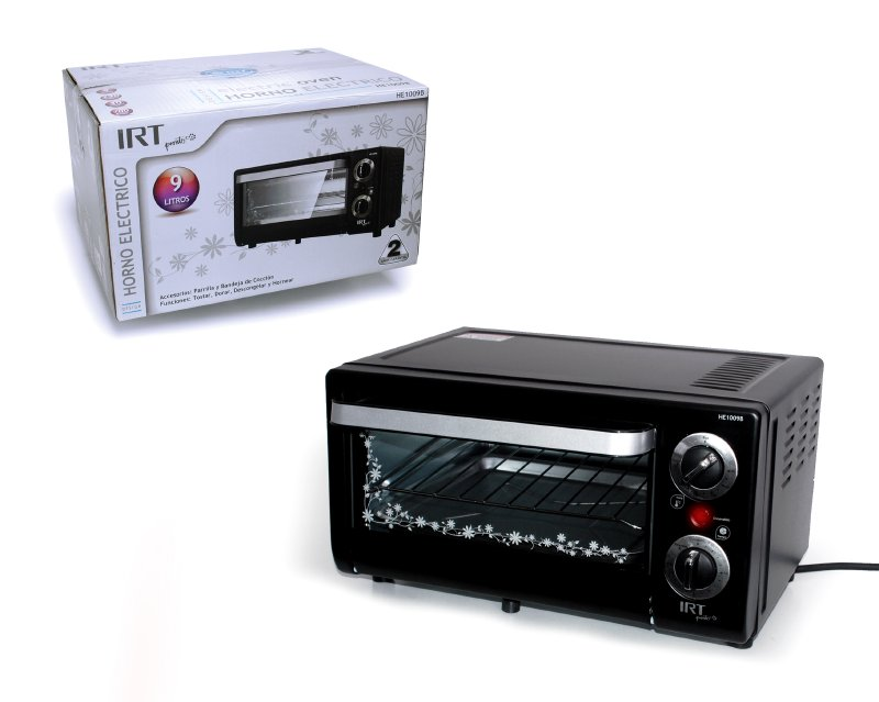 Horno Electrico Irt 9 Lts 700 Watts