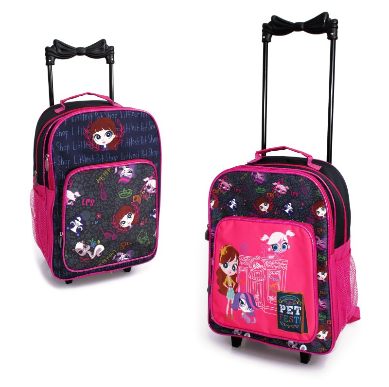 Mochila Con Ruedas Littlest Pet Shop