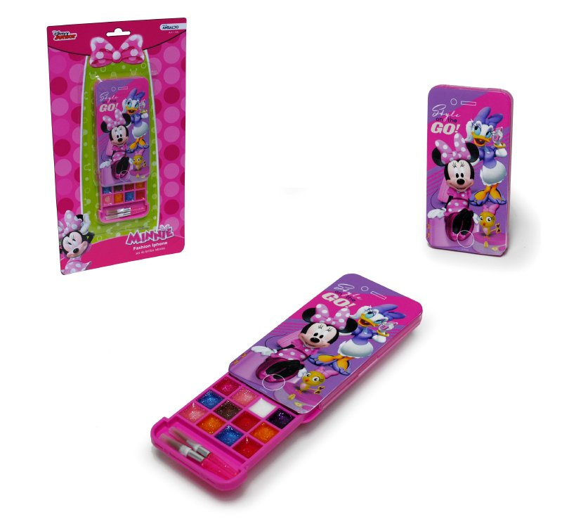 MINNIE COSMETICOS Fashion Phone Con Cosmeticos Minnie