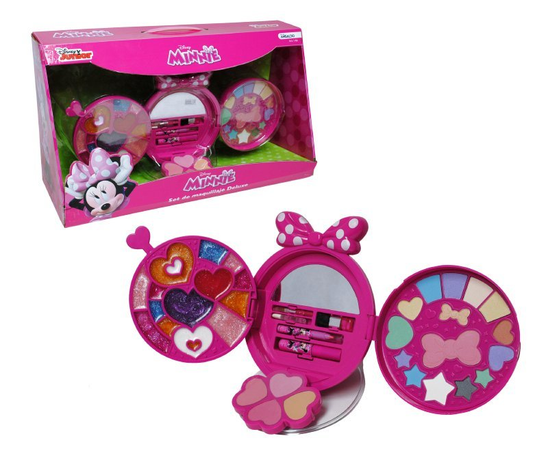 Set De Lujo Con Cosmeticos Minnie