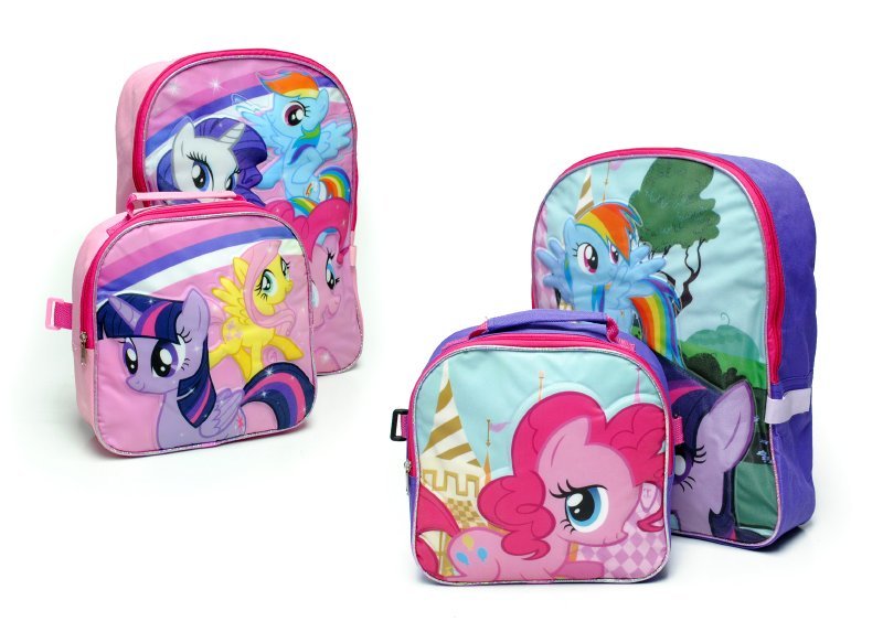 MY LITTLE PONY ESC Pack Mochila + Lonchera Pink Mlp
