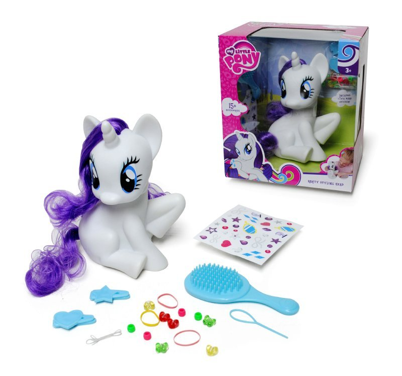 MY LITTLE PONY JUGUE Pony Rarity Para Peinar Con Accesorios