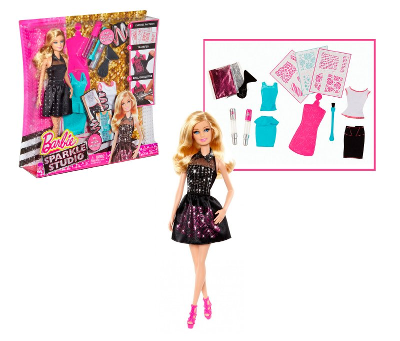 Barbie Estilos Brillantes, Mattel