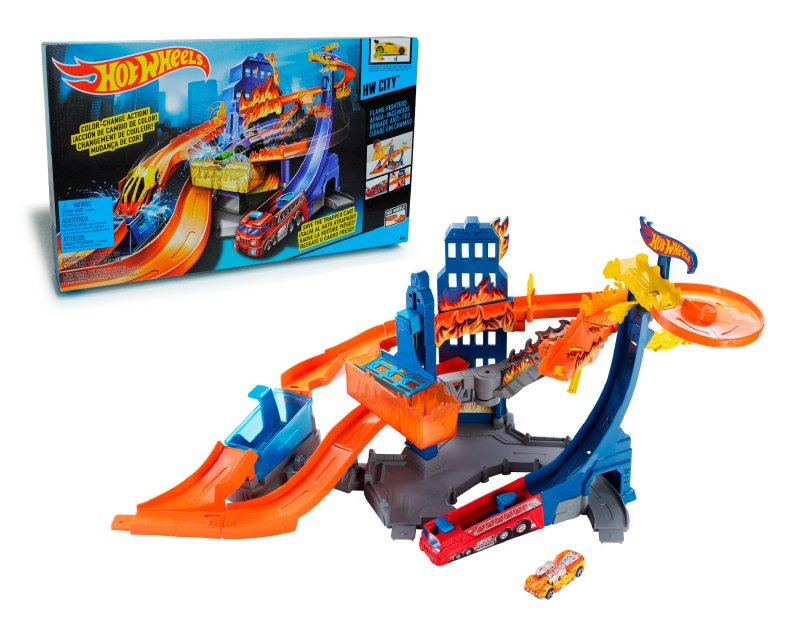 Pista Hot Wheels Apaga Incendios, Matte