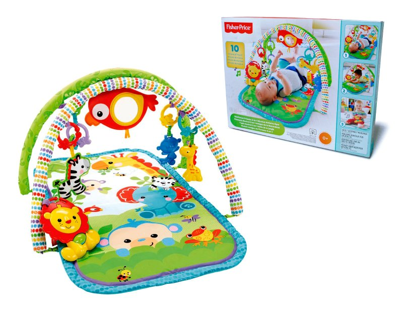Gimnasio Musical 3 En 1 Fisher Price