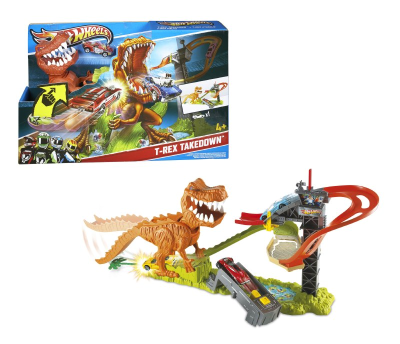 Hot Wheels Duelo De T Rex