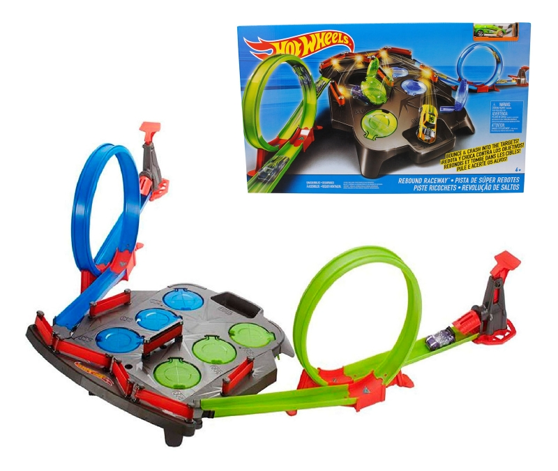 Pista De Super Rebotes Hot Wheels, Matt