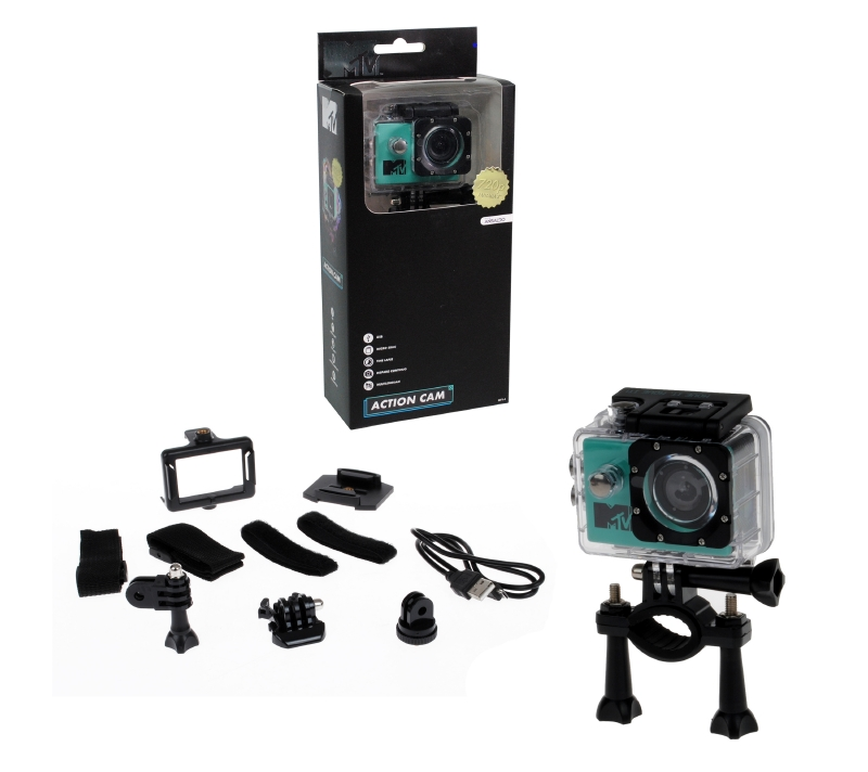 Camara Digital De Accion Hd Con Accesor