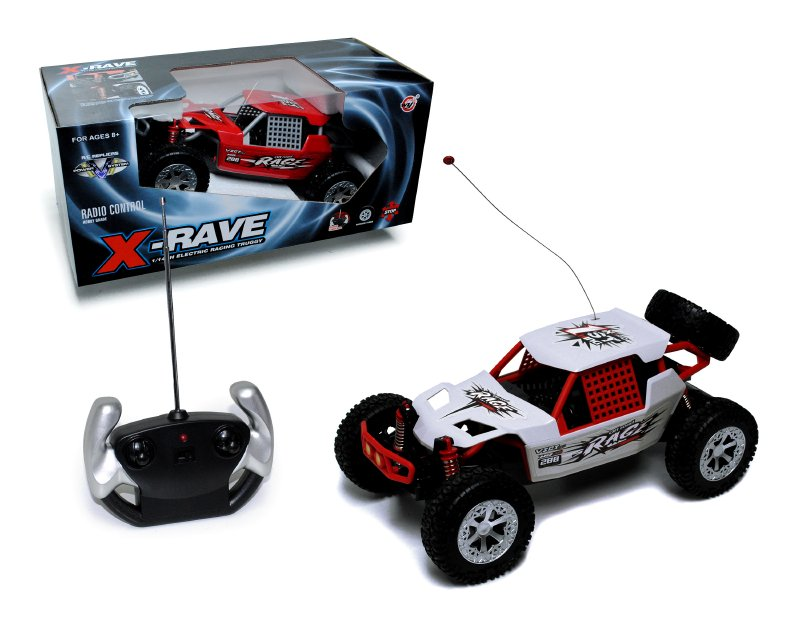 Buggy R/c Con Pack Pilas
