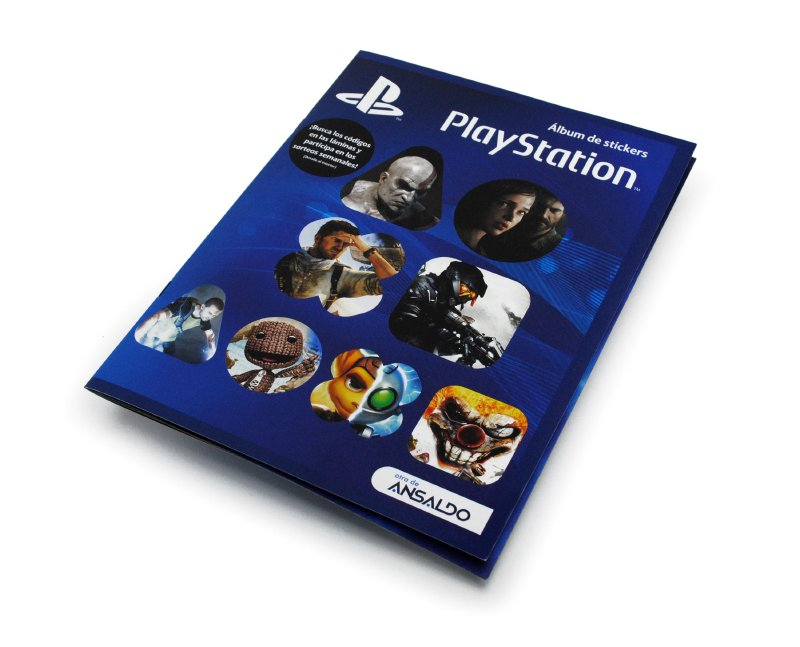 PLAYSTATION ALB Album Play Station