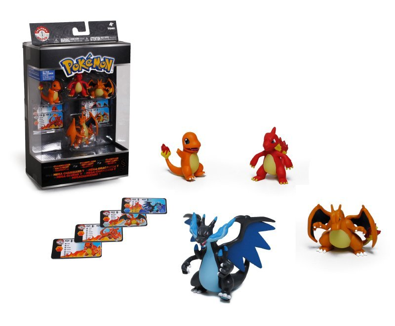 Pack 4 Figuras Evolucion Pokemon De 5 Y