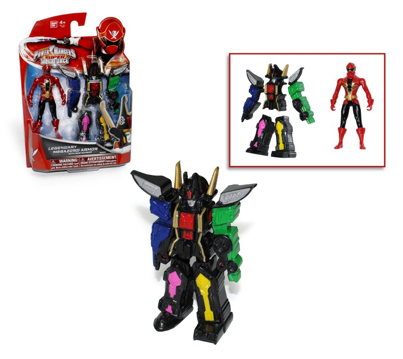 Figura Transformable Megazord Power Ran