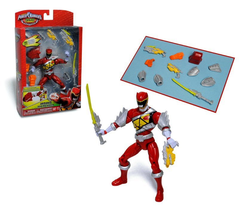 Figura Power Rangers Armored Might Dc