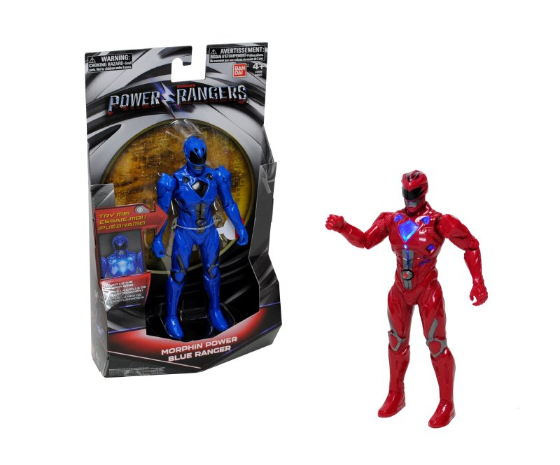 POWER RANGERS Figura Luminosa 17 Cm. Power Rangers Mo
