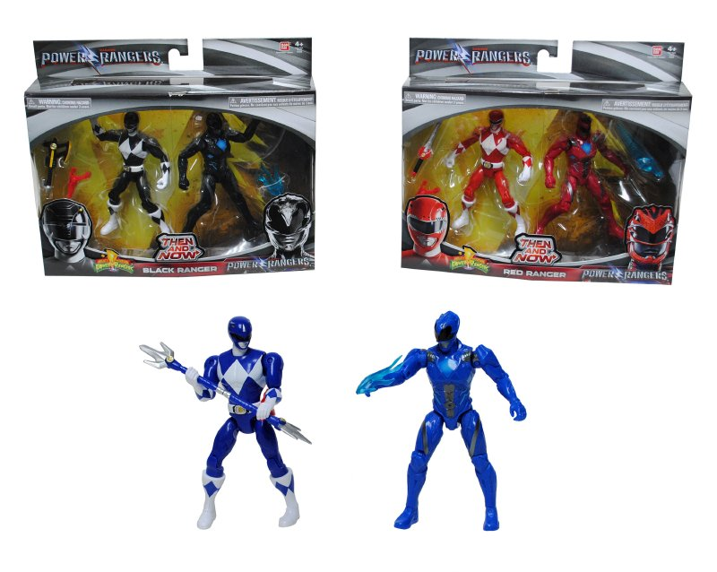 Set Figura 13 Cm. Power Rangers Clasico