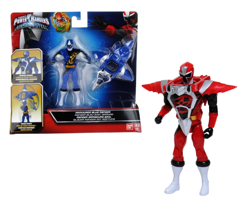 POWER RANGERS Figura 12 Cm. C/armadura Power Rangers