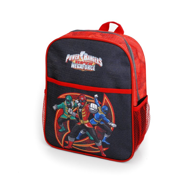 POWER RANGER ESCOLAR Mochila Pre Escolar Negra Power Ranger Esc