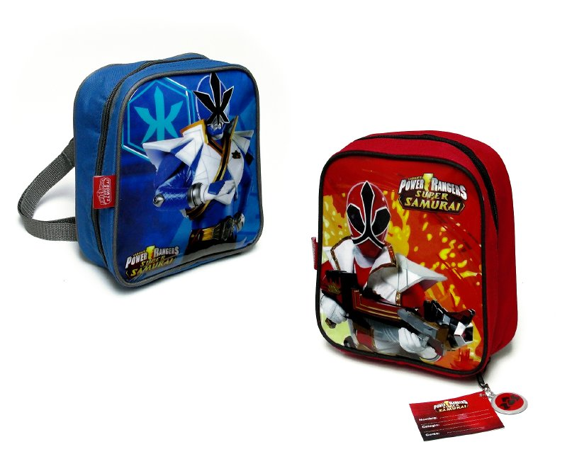 POWER RANGER ESC. Lonchera Mochila Power Rangers